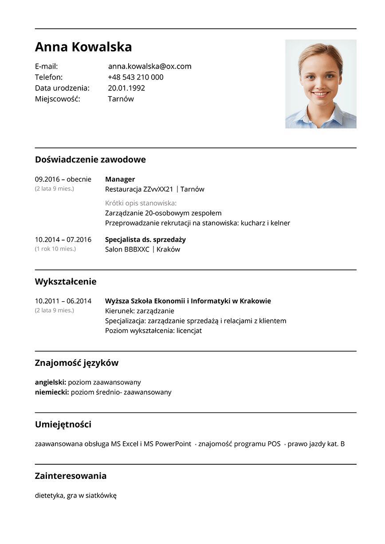 CV manager