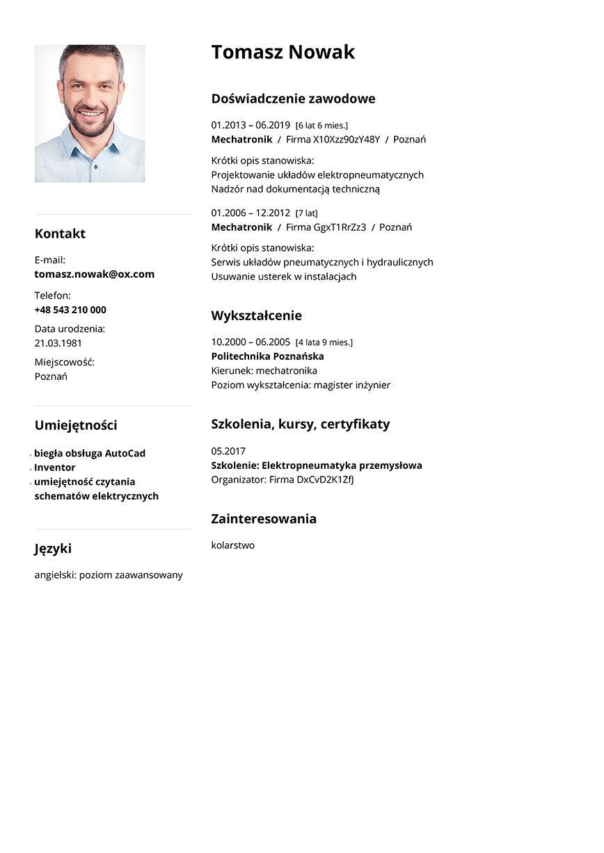CV mechatronik